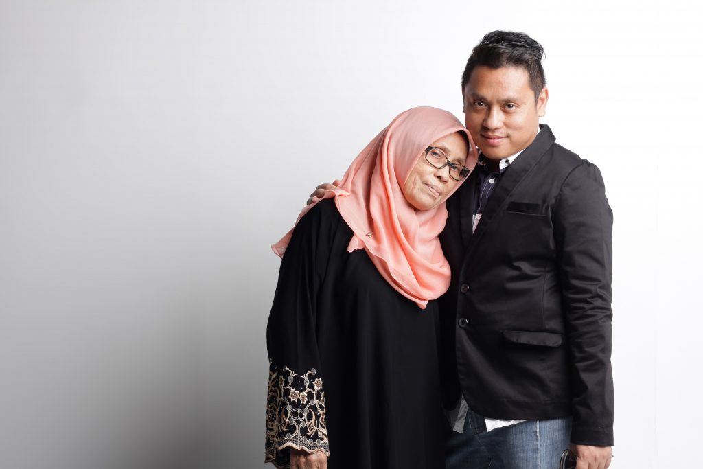 Mr Founder & his beloved Mama